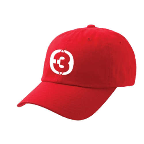 Cap THREE GETHER (Red) <br>หมวกสีแดง